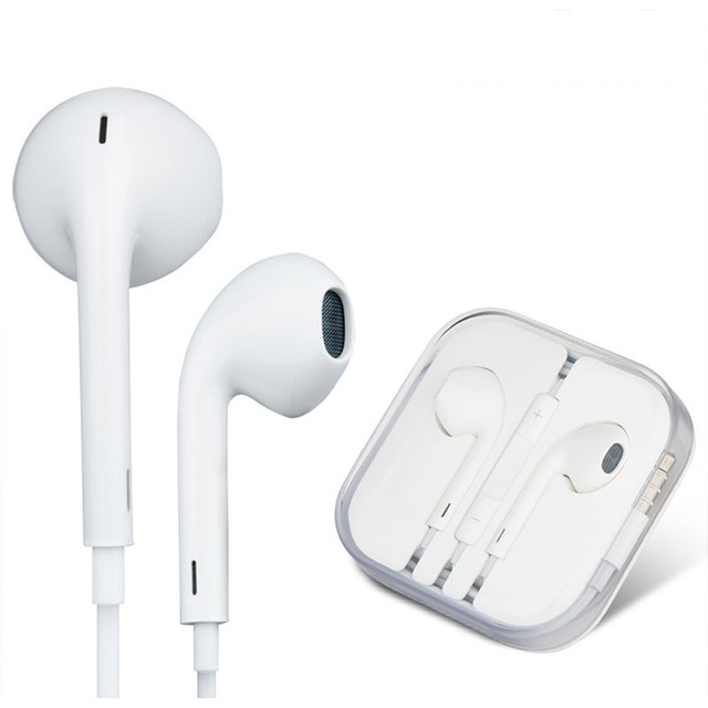 In ear mic earphone for original iphone head phones hands free stere in ear mic earphone for original iphone head phones hands free stere music ear phones with publicscrutiny Images