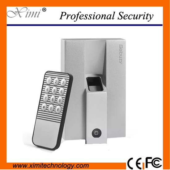 Free Shipping Biometric Metal Single Fingerprint Door Lock With Keypad no Software Fingerprint Senser Access Controller biometric fingerprint access controller tcp ip fingerprint door access control reader
