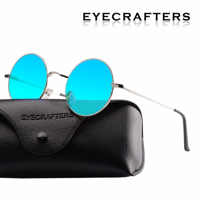 18d7bad5c9 New Brand Designer Classic Polarized Round Sunglasses Men Small Vintage  Retro John Lennon Glasses Women Driving Metal Eyewear