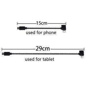 Image 2 - Spark/Mavic Afstandsbediening Data Aangesloten Kabel Lijn Draad Om Mobiele Tablet Micro USB TYPE C Connector Voor Iphone/Android