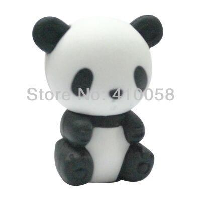 Wholesale Cute Animal Chinese Panda Eraser,200 Pcs Per Parcel Freeshipping Service