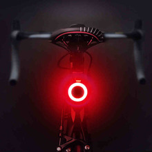 Multi Lighting Modes Bicycle Light USB Charge Led Bike Flash Tail Rear Lights for Mountains Seatpost