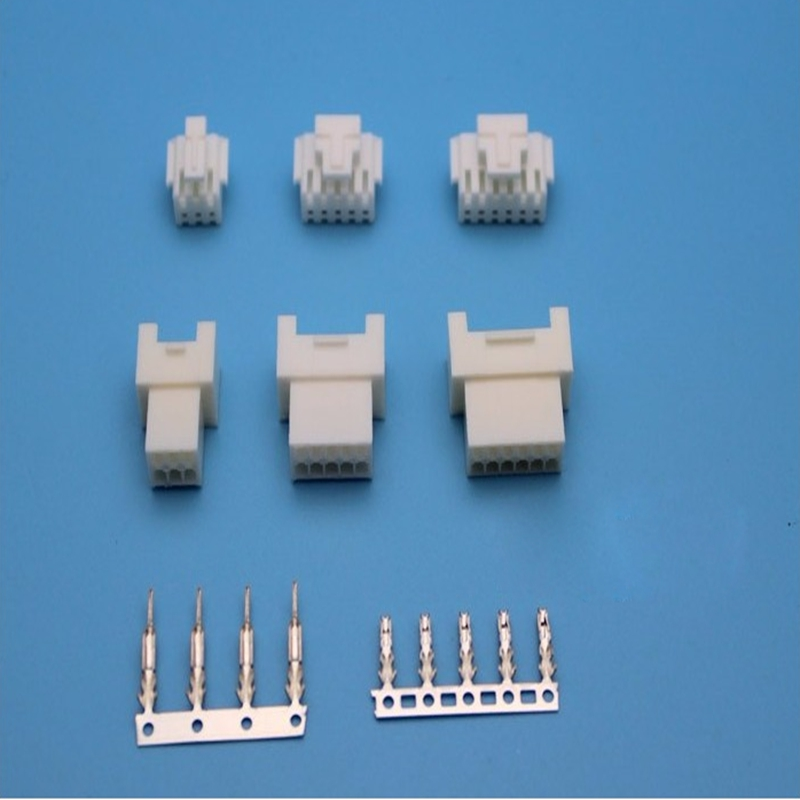 1set 2.0mm space pitch plug-in connector male and female plug on the plug 6P 8P 10P 12P 16P 18P