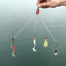 Sturdy Durable Convenient Fishing Hook Combination Without Lures Multifunctional Tackle for Lovers