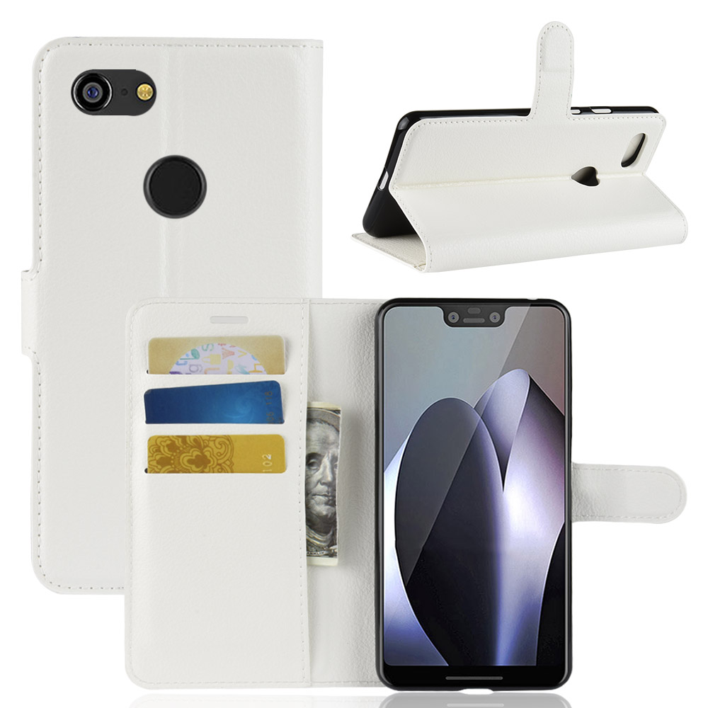 For Google Pixel 3 XL Case Cover Wallet Flip PU Leather Cover Phone Case For Google Pixel 3 XL Pixel3 XL 6.2 Inch Case