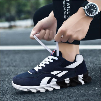 New Spring Autumn Casual Shoes Men Big Size39-46 Sneaker Trendy Comfortable Mesh Fashion Lace-up Adult Men Shoes Zapatos Hombre 2