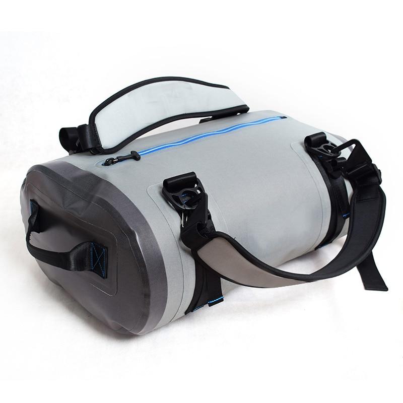 40L 90L Waterproof Diving Sport Bag Airtight Zipper Shoulder Backpack 840D TPU Beach Activity Swimming Drifting