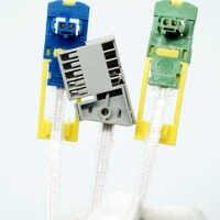 Cabo e conector de reparação de circuito eletrônico para renault com 2000 para peugeot 307 406 para citroen c5 break 12275641