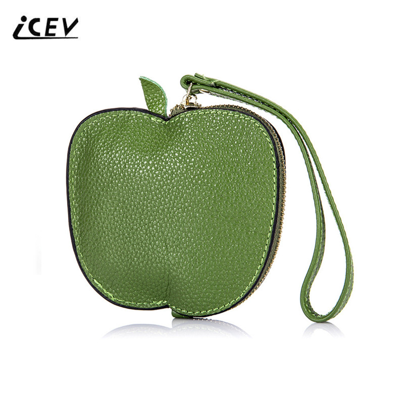 ICEV New Fashion Cute Fruit Girls Wristlets Genuine Leather Bags Handbags Women Famous Brands Designer High Quality Ladies Bags 2016 newest fashion designer handbags high quality genuine leather bags handbags women famous brands bolsa feminina pt733