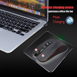 Image 5 - USB 3.0 TYPE C 2.4 GHz kablosuz Oyun Fare Dahili şarj edilebilir pil ayarlanabilir 3600 DPI Optik Dilsiz fare Dizüstü Bilgisayar için