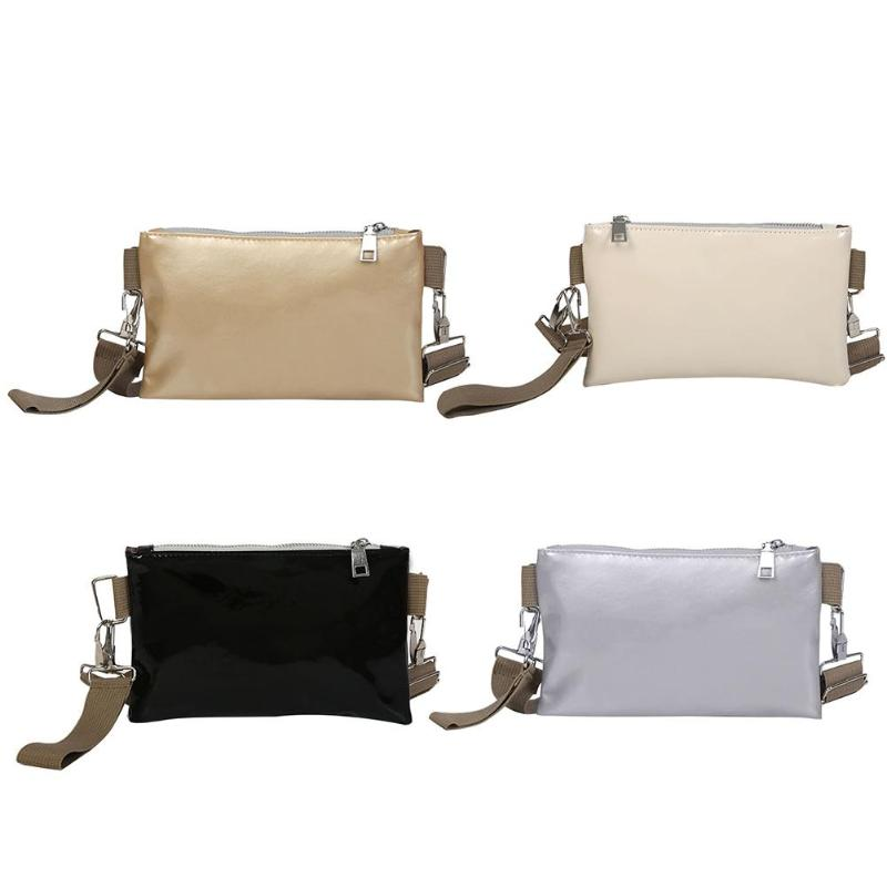 Women Waist Pack PU Leather Belt Waist Bag Ladies Portable Phone Case Female Crossbody Fanny Pack Handbag Clutch
