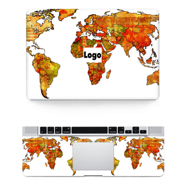 Ycsticker 2018 laptop world map skin top stickerwrist pad sticker ycsticker 2018 laptop world map skin top stickerwrist pad sticker pvc vinyl decal for apple gumiabroncs Gallery