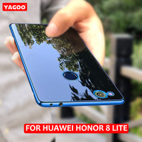 Huawei Honor 8 Lite Case Cover Glitter Thin Silicon For Huawei Honor8 Lite Case Original Yagoo