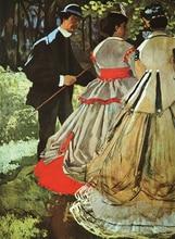 Painting Supplier Claude Monet Le Dejeuner sur lHerbe (The Picnic)  Reproduction For Home Wall Decor