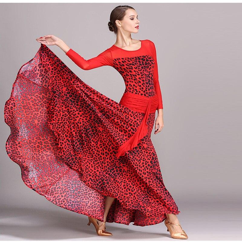 Femmes norme nationale danse juges robe valse tango foxtrot compétition robe 1737