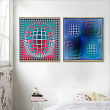 RELIABLI ART Abstract Art Geometric Patterns Canvas Pictures For Living Room Modern Poster Prints Decoration Painting Wall