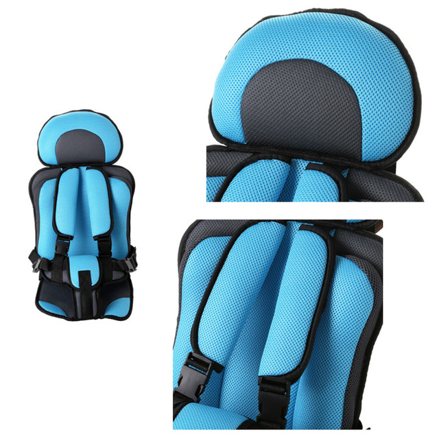 Portable Toddler Car Seat Adjustable Child Toddler Baby Chair in the Car