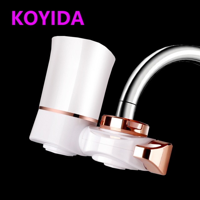 KOYIDA White 5 layers Household Water Purifier Faucet Water Filter ...