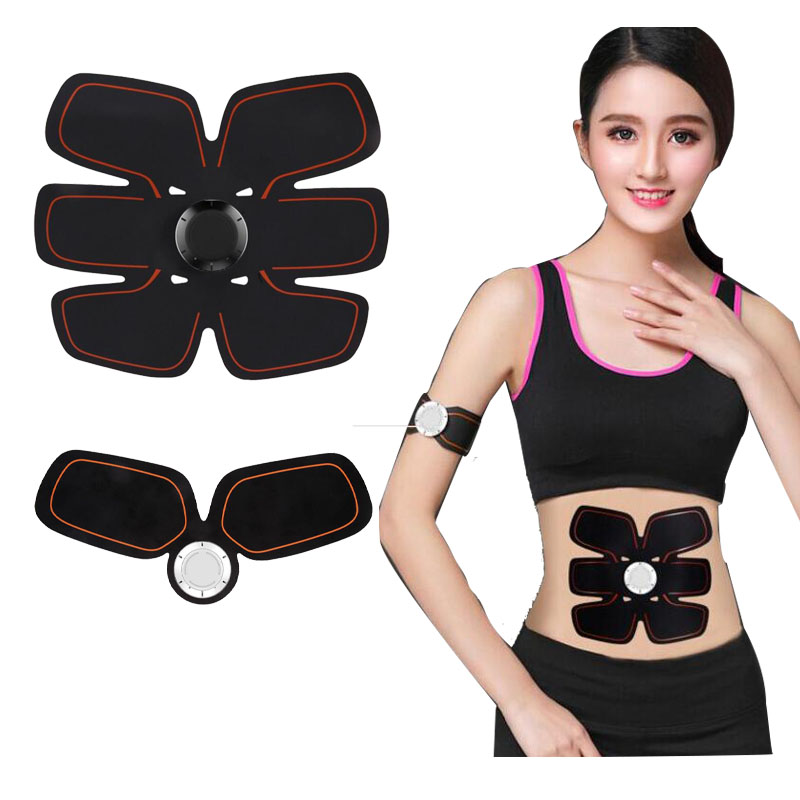 Wireless Electric Massager Women Man Bodybuilding Muscle Trainer EMS Unit Electrotherapy Back Pain Relief  Arm Body Slimming NA3 electric beauty body slimming and lipoid fat massaging massager is powerful vibratory body and slimming machine