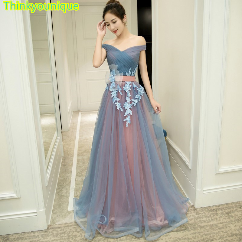 Robes de soirée col bateau robes de bal vestidos de novia abendkleider robe de soirée robes de fête robe de mariage TK107