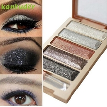 New 5 Color Glitter Eyeshadow Makeup Eye Shadow Palette P30 Jul4