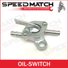 Aluminum Fuel Oil Gas Tank Switch for Gasoline Motorcycle Pit Dirt Monkey Dax Bike ATV Quad Scooter