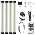 DMX LED Track Lighting 12W wireless remote control dimming 3W * 300MM, SMD2835, 1100LM, clear cover, EU/US power ,led Light set
