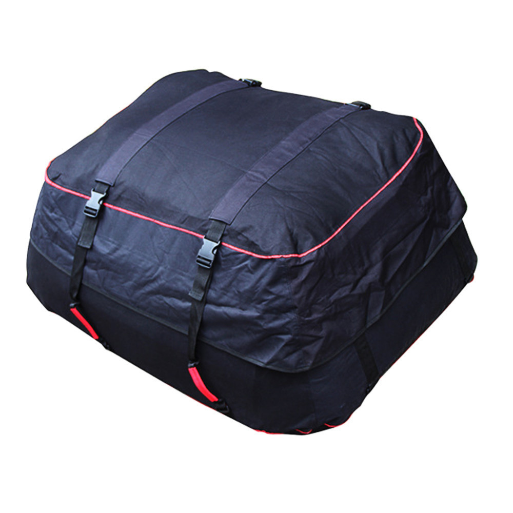 Outdoor Travel Camping Car 220L Waterproof Rainproof Dustproof Roof Top Cargo Carrier Oxford Cloth Roof Bag r407c r410a electric compressor for srv camping car caravan roof top mounted travelling truck ac
