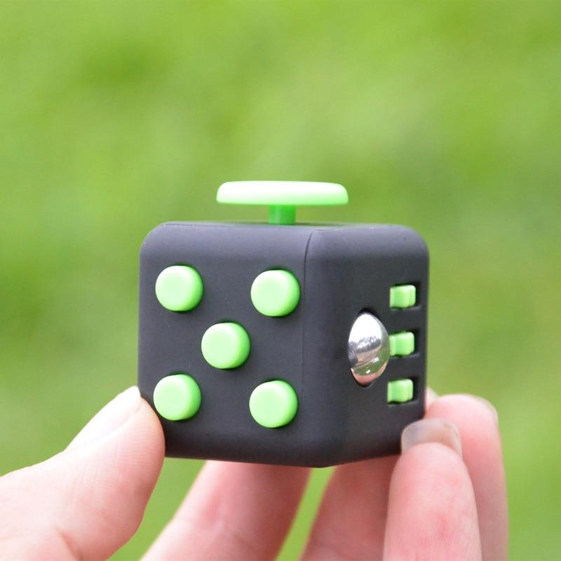 купить Original Antistress Fidget Cube Anxiety Stress Relieve Toy Adults A Vinyl Desk Toy Christmas Gift 4 Colors cube по цене 118.76 рублей