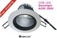 12 W COB LED למטה אור 4 אינץ COB LED downlight חם מכירות