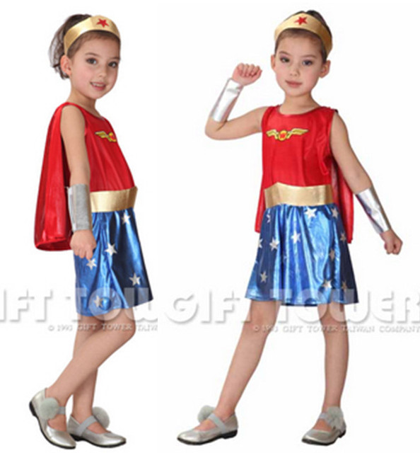 M~XL New Sexy Supergirl Super Hero Cosplay Halloween Carnival Party American Girl Kids Costume  sc 1 st  AliExpress.com & M~XL New Sexy Supergirl Super Hero Cosplay Halloween Carnival Party ...