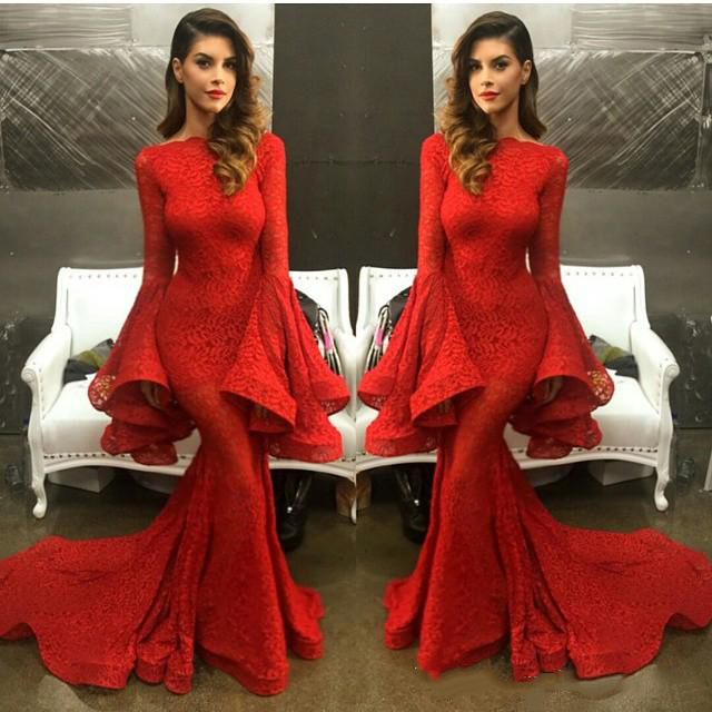 Popular Trumpet Evening Gown-Buy Cheap Trumpet Evening Gown lots ...
