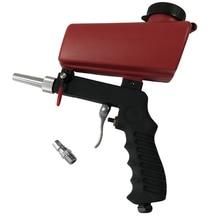 KKmoon SY-7365R Portable Home DIY Mini Gravity Spray Gun Set 90psi Sandblaster Antirust Adjustable Sandblasting Machine