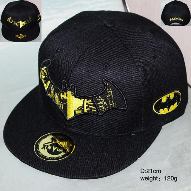 Marvel los Vengadores Batman sombrero de moda de lona Hiphop gorras de  béisbol cómodo Casual creativo 76085c72882