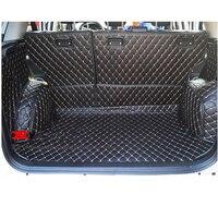 lsrtw2017 fiber leather car trunk mat for Suzuki Grand Vitara 2006 2007 2008 2009 2010 2011 2012 2013 2014 2015 2016 2017 Escudo