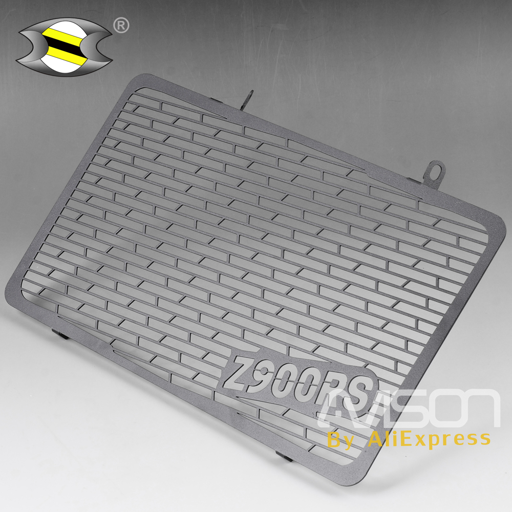 For <font><b>Kawasaki</b></font> <font><b>Z900rs</b></font> <font><b>Z900</b></font> <font><b>RS</b></font> Radiator Cover Protection Stainless Steel CNC Motorcycle Grille Guard image