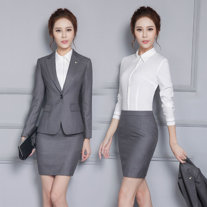 Online Get Cheap Women Office Winter Skirt Suit -Aliexpress.com ...