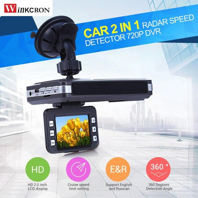 Car radar Detector dvr camera VGR-2 Laser 2 in 1 HD 1280X720P 30FPS Dash Camera car Video Recorder Russian & English Voice 2 in 1 russian