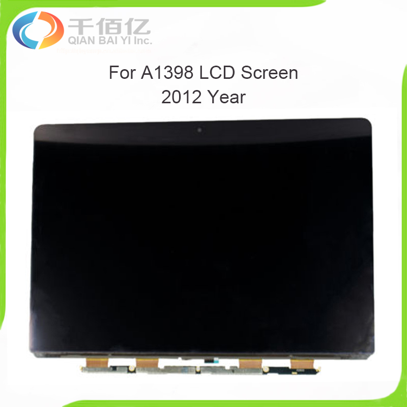 Brand New LED LCD Display Screen for Macbook Pro Retina 15'' A1398 LCD Screen Replacement 2012 Year new 15 4 for apple macbook pro retina 15 a1398 led lcd screen display 2015 free shipping
