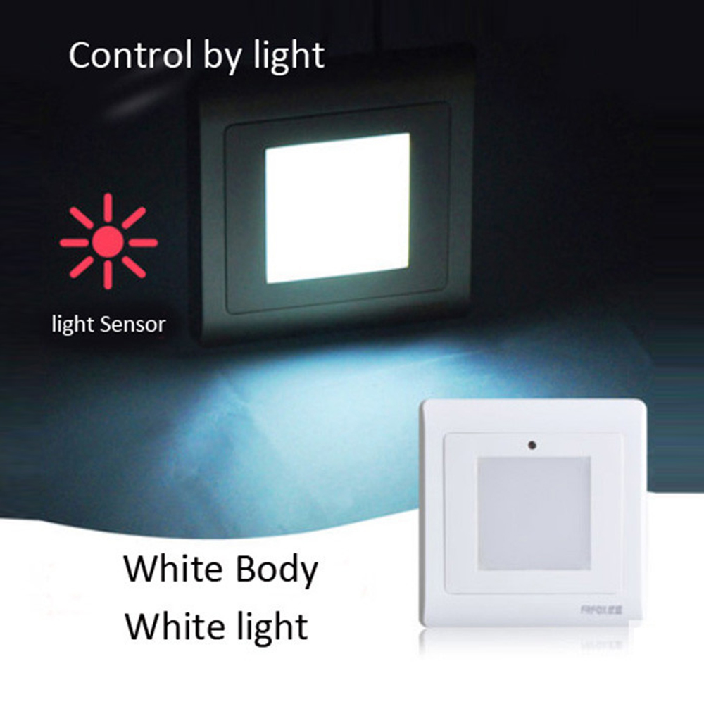Tanbaby Light Sensor Stairs Wall Light Led Night Lights