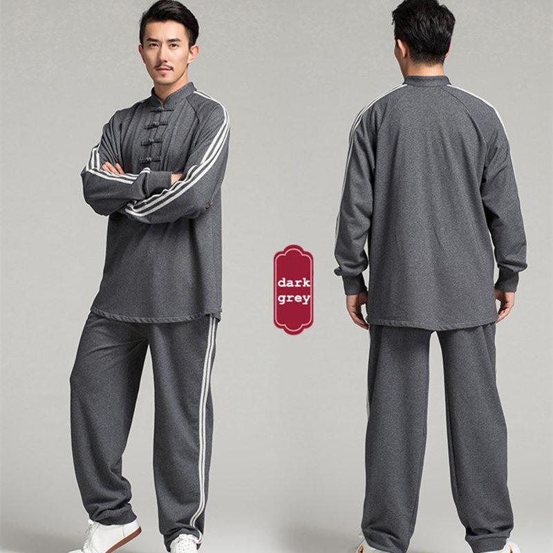 Warm Cotton Men Tai Chi Clothing Taijiquan Suits Wushu Clothes Kung Fu Tai Chi Uniform SHIRT And PANTS ORDERED SEPERATELY