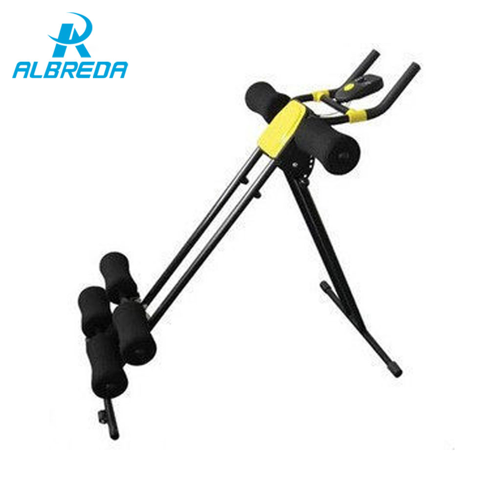 ALBREDA 5 Minute Shaper fitness equipment Abdomen Machine ab roller Sports Gym home trainer Exercise abdominal and waist muscles rip trainer high quality resistance bands crossfit fitness exercise equipment gym rip trainer basic kit stick fitness rope