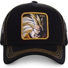 New Dragon Ball Z Mesh Hat Goku Baseball Cap High Quality Bl