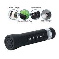 Altavoz Bluetooth Multi Function 5 In 1 Bike Bluetooth Speaker 2600mAh Mobile Power Bank LED Flashlight