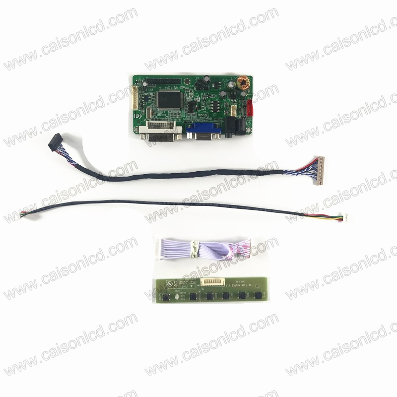Women Gentle Rtd2261 Lcd Controller Board Support Dvi Vga Audio For 15 Inch Lcd Panel 1024x768 G150xge-l06 L04 Claa150xp06cw G150xtn03.0 Suitable For Men And Children