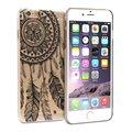 """Для iphone 5/5S 4.0 """", белый Черный Цветочные Пейсли Цветок 3D Печати Pattern УЛЬТРА ТОНКИЙ Жесткий Пластик Прозрачный Чехол, бесплатно"""
