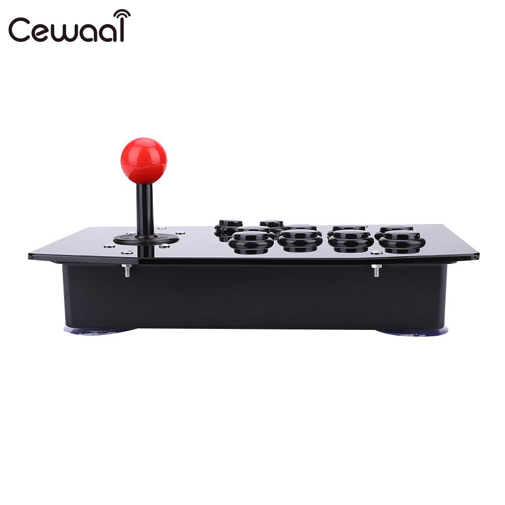 USB Arcade Fighting Stick Joystick Gaming Controller Video Game For PC