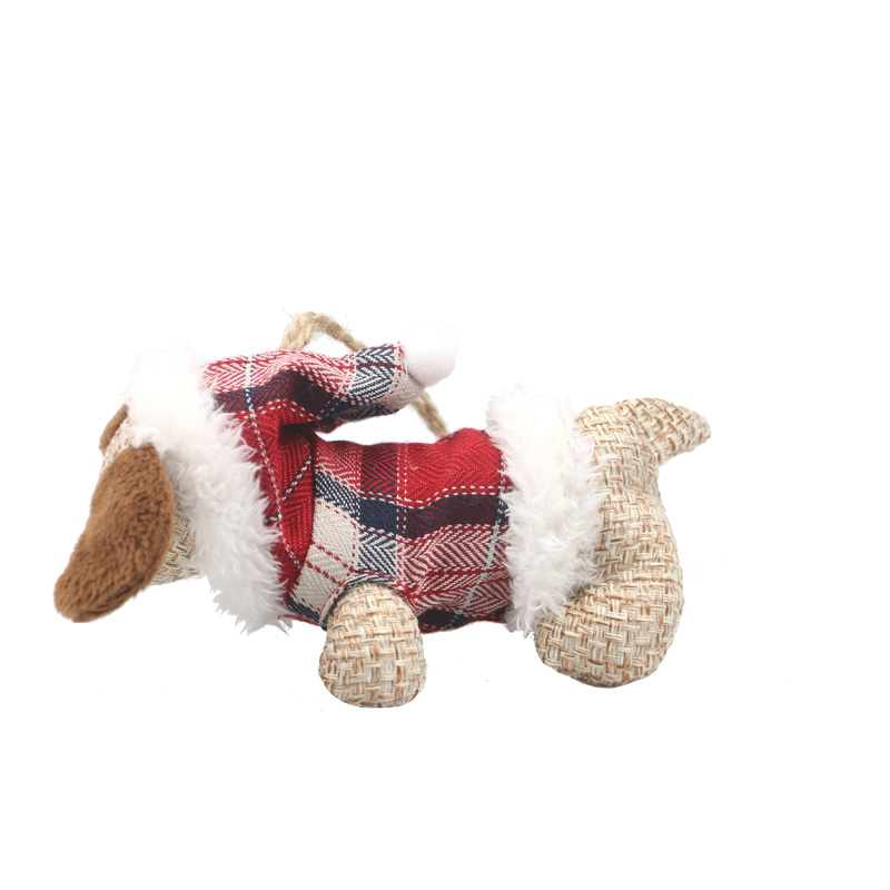 13CM Kawaii Puppy Doll Puppy Plush ToyStuffed Toys Lovely Simulation Animal Doll Plush Sleeping Dogs Toy with Sound Kids Toy