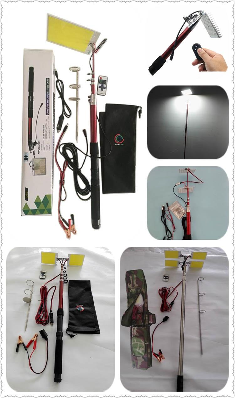 LED fishing rod lights
