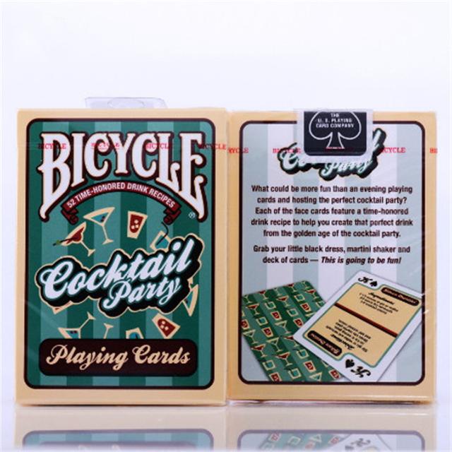 1 Cubierta de Bicicletas Cóctel Cubierta Jugar envios Card Poker Magia Magia Apoyos Nueva Tarjeta De Papel Sellado 81290